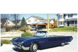 Ford : Thunderbird Convertible