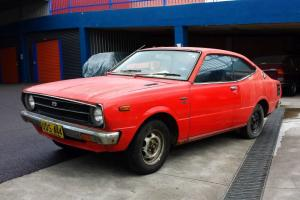 1977 Toyota Corolla SE KE35 3K Coupe Project Manual With Rare Aircon in NSW