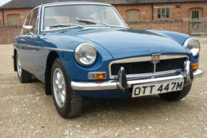 MGB GT 1973 FINISHED IN TEAL BLUE WITH AUTUMN LEAF INTERIOR - BEAUTIFUL Photo