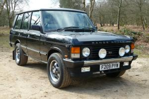 1989 ROVER RANGE ROVER OVERFINCH 500i