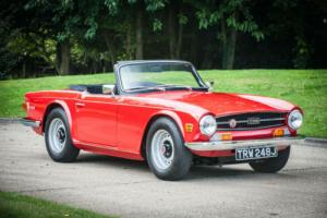 1970 Triumph TR6 150BHP - Signal Red With Black Trim - Truly Exceptional Photo