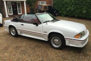 Ford Mustang 5.0 V8 GT CONVERTIBLE AUTOMATIC 1988 IMMACULATE ONLY 77000 MILES