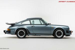Porsche 911 3.2 Carrera // Slate Blue Metallic // 1984