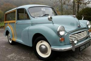1967 MORRIS MINOR TRAVELLER, Very tidy restored example all round, new wood!