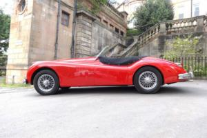 1955 Jaguar XK140 Roadster SE Manual Red