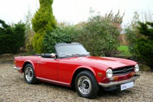 1973 Triumph TR6 2.5 Pi with Overdrive. Only 38,000 Miles