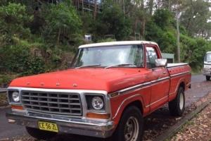 Ford F100 UTE 1978