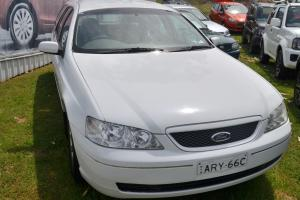 Ford Falcon Futura 2003 4D Wagon Automatic 4L Multi Point F INJ 5 Seats