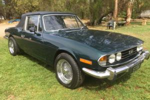 """Triumph Stag """"Custom"""" Chev V6 Auto """"Bargain"""" in SA"""