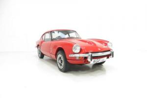 A Michelotti Penned Ex-concours Triumph GT6 Mk2 with Just 22,192 Miles. Photo