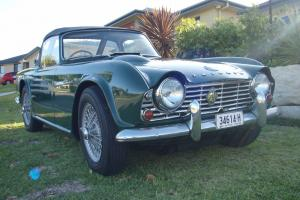 Triumph TR4 1963 in NSW Photo
