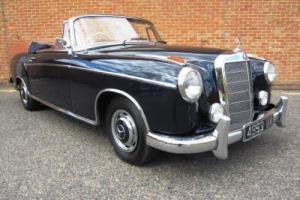 1960 Mercedes-Benz 220 SE Ponton