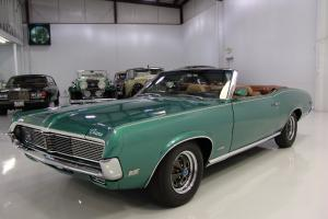 1969 MERCURY COUGAR XR-7 CONVERTIBLE, RARE 390 4-SPEED, 1 OWNER, LOW MILES!