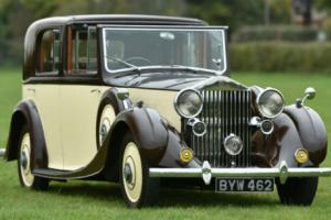 1935 Rolls Royce 20/25 SEDANCA DE VILLE by Mulliner Photo