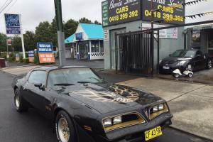 Pontiac Trans AM 79 Anniversary Build Trans AM V8 4 Speed T TOP