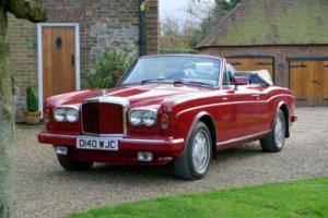 1987 Bentley Continental Convertible Photo