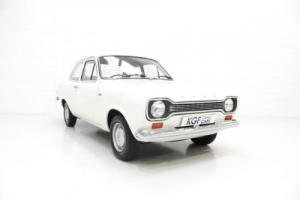 A Truly Remarkable 2dr Ford Escort 1300L with Two Owners and 52,052 Miles