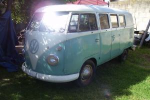 VW 1961 Kombi Microbus in SA Photo