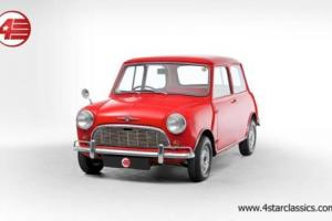 FOR SALE: Morris Mini-Minor Super Deluxe Mk1 1962