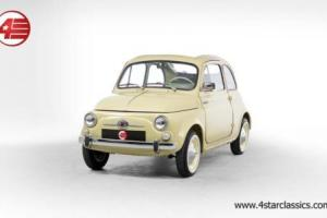 FOR SALE: Fiat 500 D Trasformabile 1964