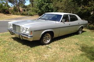 1976 Ford P6 Silver Monarch V8 Cruiser NOT ZH Fairlane XY Photo