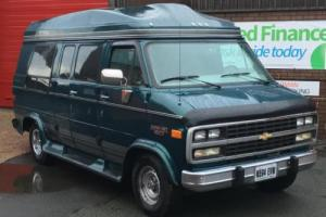 1995 CHEVROLET GMC CHEVY G20 DAYVAN 5.7 V8 LHD AMERICAN IMPORT High Roof Camper