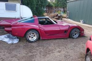 1977 Greenwood Daytona Bodied Corvette Original Eckler Numbered KIT