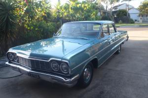 1964 Australian Delivered Chevrolet Belair Sedan Restored Showcar