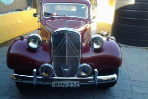 Citroen 1951 Traction Avant Slough Built