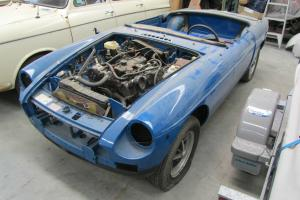 1977 MG MGB Unfinished Project Mechanically Ready FOR RWC in VIC