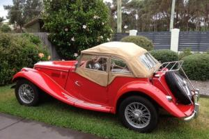 1953 MG TF 1250cc in NSW