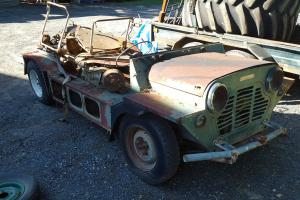 BMC Mini Moke 2 Cars With Very Early Build Numbers in QLD