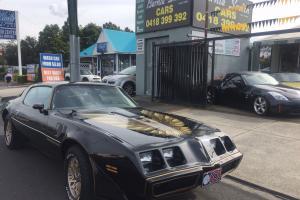 Pontiac Trans AM 79 Smokey AND THE Bandit Trans AM V8 4 Speed Firebird