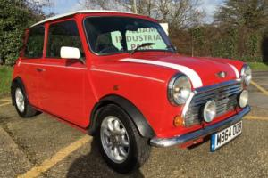SOLD Rover Mini Cooper. 1.3i. Stunning Flame red. Low miles. FSH.