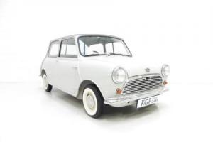 A Highly Sought-after 1959 Austin Seven Basic Mini, Last Owner 50 Years!