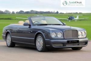 2007 BENTLEY AZURE 6.8 AZURE 2D AUTO 451 BHP