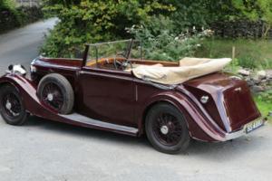 1937 Bentley 4 1/4 H J Mulliner Drophead Coupe B135KU Photo