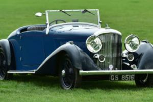 1938 Derby Bentley 4.25 Litre MR overdrive series. Photo