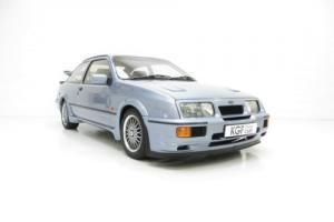 One of 52 Moonstone Blue Ford Sierra RS500 Cosworth's with 39,468 Miles