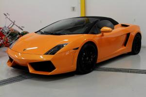 Lamborghini: Gallardo LP560-4 Spyder Convertible 2-Door