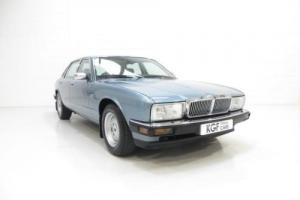 An Exceptional Jaguar XJ40 Sovereign Preserved with an Incredible 9,399 Miles.