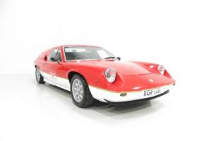 A Superb Lotus Europa S2 Recreated as a Type 47 John Player Gold Leaf. Photo