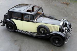1935 Rolls-Royce 20/25 H J Mulliner Sports Saloon GAF62