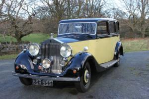 1939 Rolls-Royce Wraith Hooper Saloon WMB4