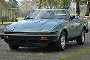 GENUINE 1980 TRIUMPH TR8 3.5 V8 MANUAL LHD