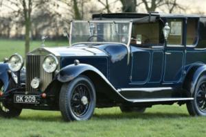 1930 Rolls Royce Phantom II Sedanca