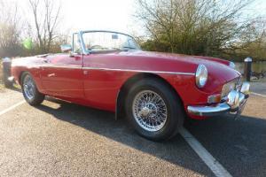 MG B sports/convertible Red eBay Motors #171049450767