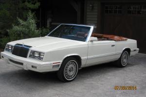 Chrysler: LeBaron Convertible-Medallion Edition, Mark Cross Interior Photo