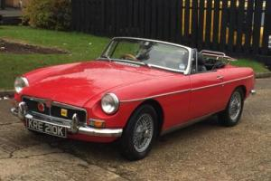1972 MGB ROADSTER 1.8 CONVERTIBLE SOFT TOP. TAX EXEMPT. OVERDRIVE. 12 MONTHS MOT