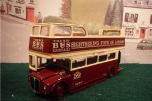 EFE C17803 AEC Routemaster Open Top Big Bus Company bus boxed (myn3)